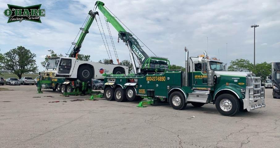 heavy equipment tow